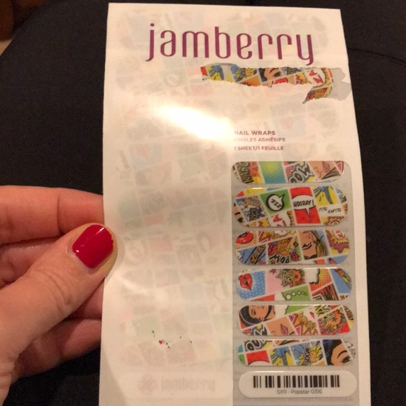Jamberry Other - Jamberry Popstar nail wraps